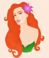 Poison Ivy Colored by mishlee