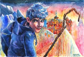 Jack Frost: Rise of the Guardians by thaomani