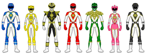 MMPR: HMRverse by heavenlymythicranger