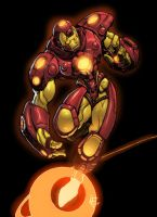 Iron man by atombasher