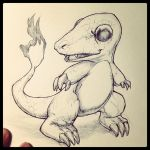 Charmander Realistic by SketchMonster1