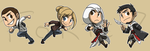 Stickers: Assassin's Creed I by forte-girl7