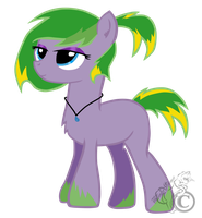 Lime-shot Storm by ThunderStormin
