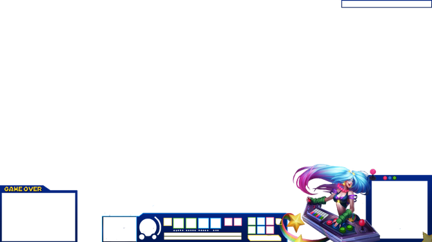 [FREE]Sona Arcade - Streaming overlay by lol0verlay