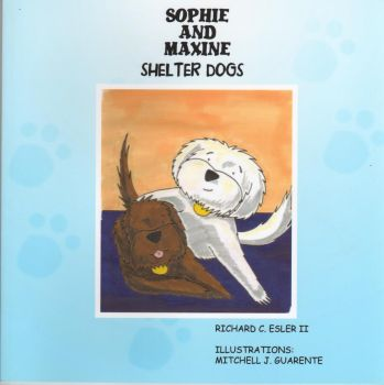 Sophie and Maxine: Shelter Dogs by ninjamitch