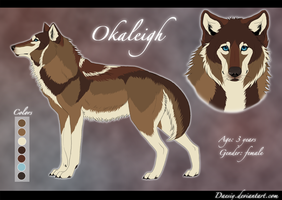 Okaleigh Reference sheet by Daesiy