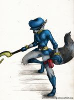 Sly Cooper by MortaleRedWolf