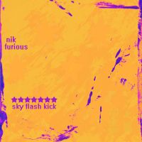 7 Star Sky Flash Kick album cover by nickmarino