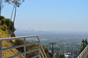 La Skyline - Jimrock La Downtown Hills pic by OgJimrock