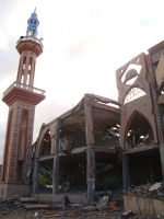 Destroyed Mosque in Gaza 1 by ademmm