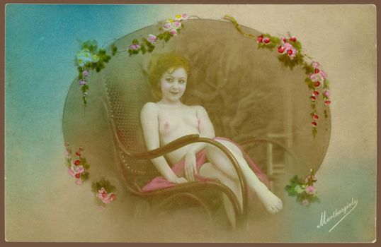 In the Rocking Chair by MGstudio