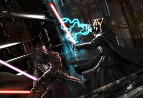 Darth Nihilus vs Darth Revan 2 by rumper1