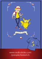 Adventure Time in Pallet Town by TeegKetchen