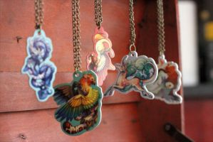 Necklaces by Flying-Fox