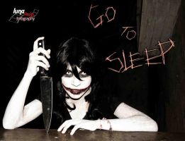 Jeff the killer cosplay- Illusion 2 by haozeke93
