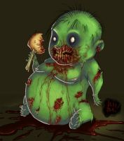 Zombabie by 2BeanSoup