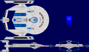 USS Mondas Multi-View by captshade