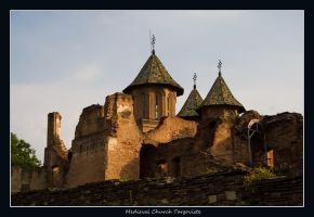 medieval church targoviste by seraphRo