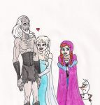 Elsa Gets A Boyfriend by 13foxywolf666