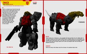 DINOBOT SMACK by F-for-feasant-design