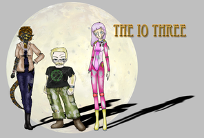 The Io Three by DanielaLaverne