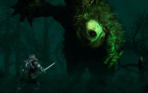 Swamp Monster by Wanr