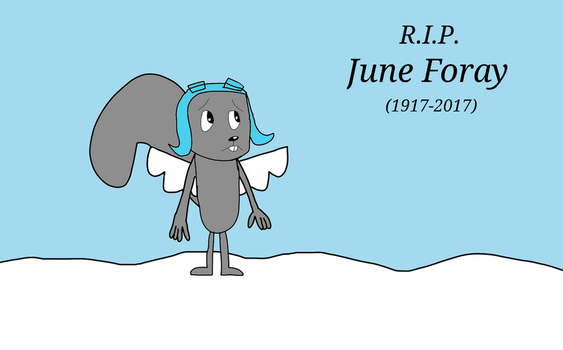 In Loving Memory of June Foray by Toongirl18