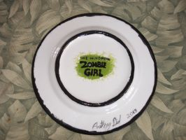 Zombie Girl Plate 01 Back by Gummibearboy
