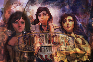 Bioshock Infinite - Wallpaper - Elizabeth by rymae