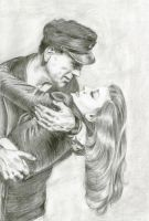 Bogart and Bacall by ClaireDial