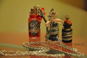 bottle charms by BETGOLD