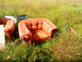 Irony Armchair in sterile field by Maroventolo