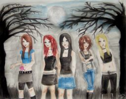 metalocalypse - female version by demonikissa