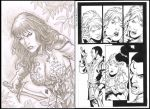 EBAY AUCTIONS RED SONJA ORIGINAL PAGES..SKETCHES by wgpencil