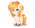SHMOL SOLAIR (Chibi Summer solair) by NihiTheBrony