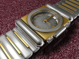 Gold Watch by MadRob