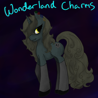 MLP Adoptable: Wonderland Charms. -Closed- by shaddiiadopts