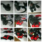 Toothless Commission Step by Step by KarolinaSkaUniverse