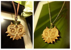 Majora's Mask Necklaces by Havenaims