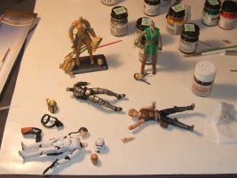 Star Wars Customs WIP 1 by Jedi-Mathyus