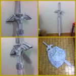 MAKING OF - MASTER SWORD ZELDA TP by kurosakimaikon