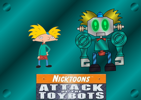 ARNOLD AND ARNOLDBOT by mayozilla