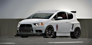 Mitsubishi Colt by samvesters
