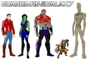 Guardians of the GALAXY! by MOMOpJonny