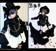 Ciel Phantomhive: Gothic Enchantment by BlackRoseMikage