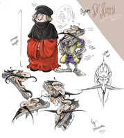 Royalty Character design Challenge-Signore Di Roma by eissaY