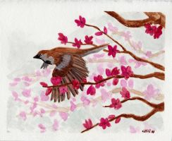Of Birds And Blossoms by IckyDog