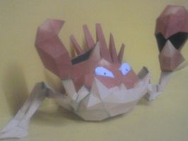 kingler papercraft by rafex17