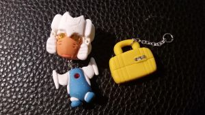 Chibi Chubs: Brainstorm and Briefcase Charm by Laserbot