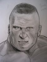 Brock Lesnar by VinceArt